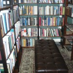 My favorite room in the bookstore -- a private cubbyhole of history books!