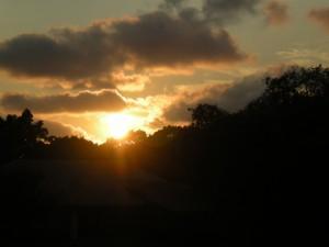 Sunset chez MC.