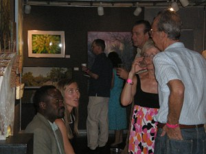WSLR enthusiasts enjoy the art(s) of conversation.