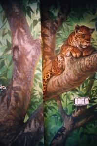 Photo of mural work courtesy of Bella Art website