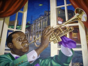 The mural art that will appear in tonight's episode of Treme (courtesy of www.bellaarte.biz)