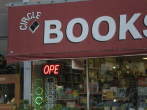 Circle Books -- one of the first places to sell my book!