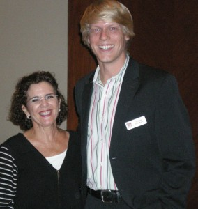 Lisa Rubinstein of LDR Creative and Cooper Levey-Baker.