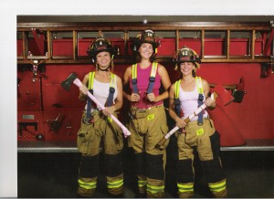 Lots of brave (and beautiful!) women are out there fighting fires, too!