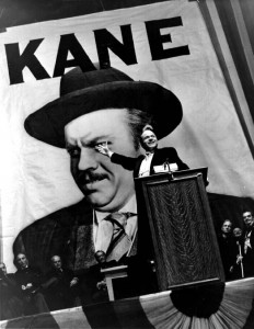 If you haven't seen Citizen Kane ... maybe now's a good time to check it out.